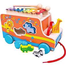 Bino Auto vkladačka so xylofónom - Auto
