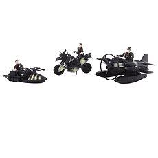 Lietadlo, čln a motorka - Hracia súprava