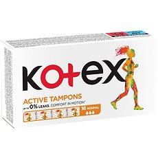 KOTEX Tampons Active 16 Normal - Tampóny