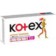 KOTEX Tampons Active 16 Super - Tampóny