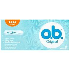 O.B. Original Super Tampons 16 ks - Tampóny