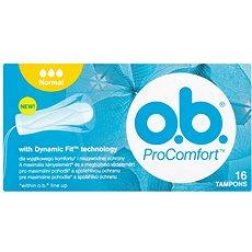 O.B. ProComfort Normal Tampons 16 ks - Tampóny