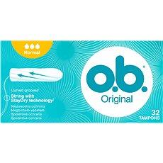 O.B. Original Normal Tampons 32 ks - Tampóny