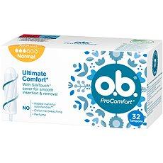 O.B. ProComfort Normal Tampons 32 ks - Tampóny