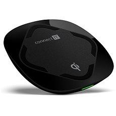 CONNECT IT Qi Certified Wireless Fast Charge čierna - Bezdrôtová nabíjačka