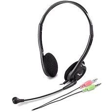 Genius HS-200C Dual Jack - Slúchadlá s mikrofónom