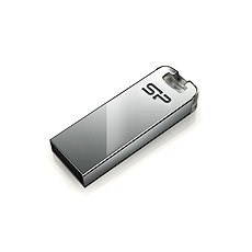 Silicon Power Touch T03 Silver 8 GB - Flash disk