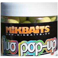 Mikbaits Plávajúci fluo Pop-Up Zrejúcí banán 14 mm 250 ml - Plávajúce boilies