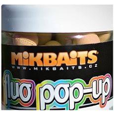 Mikbaits Plávajúci fluo Pop-Up Polnočný pomaranč 14 mm 250 ml - Plávajúce boilies