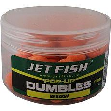 Jet Fish Pop-Up dumbles Signal Broskyňa 11 mm 40 g - Plávajúce boilies