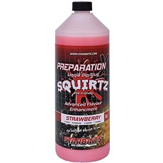 Starbaits Prep X Squirtz Strawberry 1 l - Booster