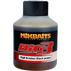 Mikbaits Legends Booster BigB Broskyňa Black pepper 250 ml - Booster