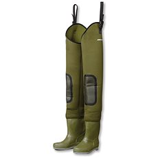 DAM Fighter Pro+ Neoprene Hip Waders Cleated Sole - Nohavice na brodenie