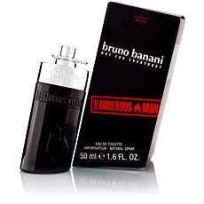 BRUNO BANANI Dangerous Man 50 ml - Pánska toaletná voda