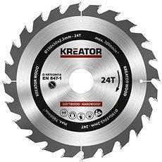 Kreator KRT020416, 190 mm - Pílový kotúč na drevo