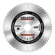 Kreator KRT020415, 185 mm, 60T - Pílový kotúč na drevo