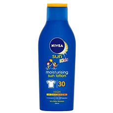 NIVEA SUN Kids Protect & Moisture Lotion SPF 30 200 ml - Mlieko na opaľovanie