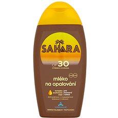 SAHARA Mlieko na opaľovanie SPF 30 200 ml - Mlieko na opaľovanie