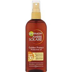 GARNIER Ambre Solaire Golden Touch Olej na opaľovanie SPF 30 150 ml - Olej na opaľovanie