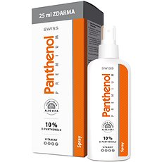 PANTHENOL 10 % Swiss Premium spray 150 + 25 ml - Telový sprej