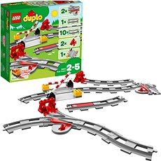 LEGO DUPLO 10882 Koľajnice - Stavebnica
