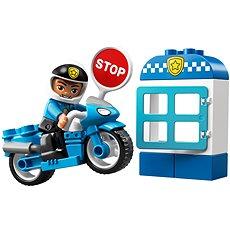 LEGO DUPLO Town 10900 Policajná motorka - Stavebnica