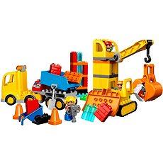 LEGO DUPLO 10813 Veľké stavenisko - Stavebnica