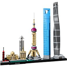 LEGO Architecture 21039 Šanghaj - Stavebnica