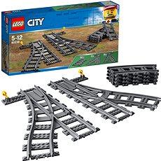 LEGO City Trains 60238 Výhybky - Stavebnica