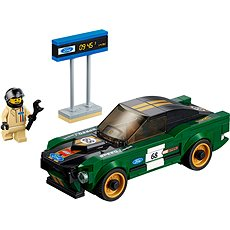 LEGO Speed Champions 75884 1968 Ford Mustang Fastback - Stavebnica