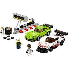 LEGO Speed Champions 75888 Porsche 911 RSR a 911 Turbo 3.0 - Stavebnica
