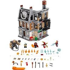 LEGO Super Heroes 76108 Súboj v Sanctum Sanctorum - Stavebnica