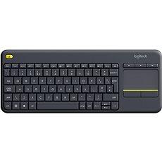 Logitech Wireless Touch Keyboard K400 Plus UK - Klávesnica