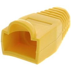10-pack, plastová, žltá, Datacom, RJ45 - Krytka konektora