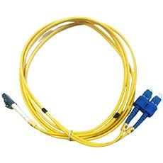 DATACOM LC-SC 09/125 SM 2 m duplex - Audio kábel