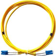 DATACOM LC-LC 09/125 SM 3 m duplex - Optický kábel