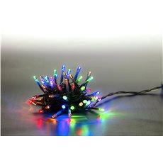 Marimex Reťaz sveteľná 100 LED 5 m – farebná – transparentný kábel - Vianočné osvetlenie