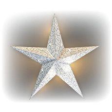 Marimex Hviezda svietiaca LED papierová - Vianočné osvetlenie
