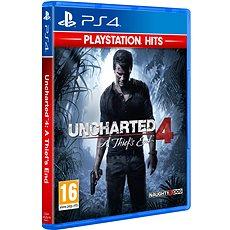 PS4 - Uncharted 4: A Thief´s End - Hra na konzolu