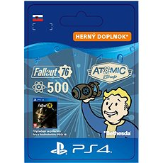 Fallout 76: 500 Atoms - PS4 SK Digital - Herní doplněk