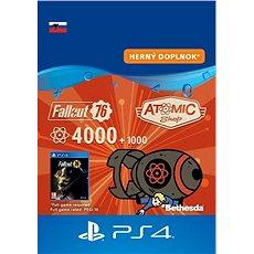 Fallout 76: 4000 (+1000 Bonus) Atoms - PS4 SK Digital - Herní doplněk