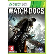 Xbox 360 - Watch Dogs - Hra na konzolu