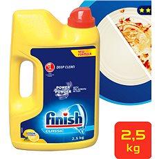 FINISH PowerPowder Citrón 2,5 kg - Prášok do umývačky