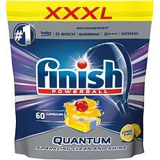 FINISH Quantum Max Lemon 60 ks - Tablety do umývačky