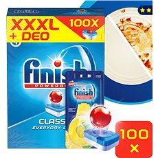 FINISH Classic Lemon 100 ks + DEO Lemon - Tablety do umývačky