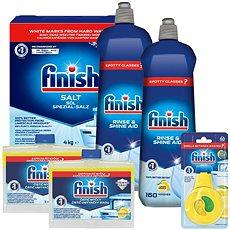 FINISH to najlepšie pre vašu umývačku - Sada drogérie