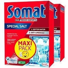 SOMAT Soľ 2× 1,5 kg - Soľ do umývačky