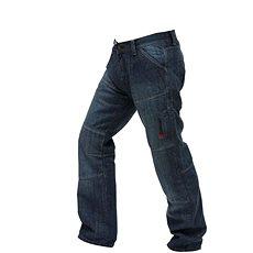 Spark Track, modré 32 - Nohavice na motorku