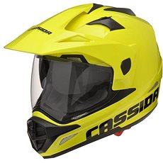 CASSIDA Tour (žltá fluo) - Prilba na motorku