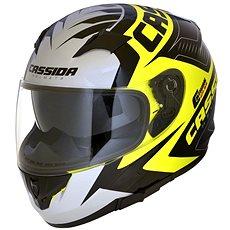 CASSIDA Integral 2.0 Perimetric (žltá fluo/čierna/biela/šedá, veľkosť M) - Prilba na motorku